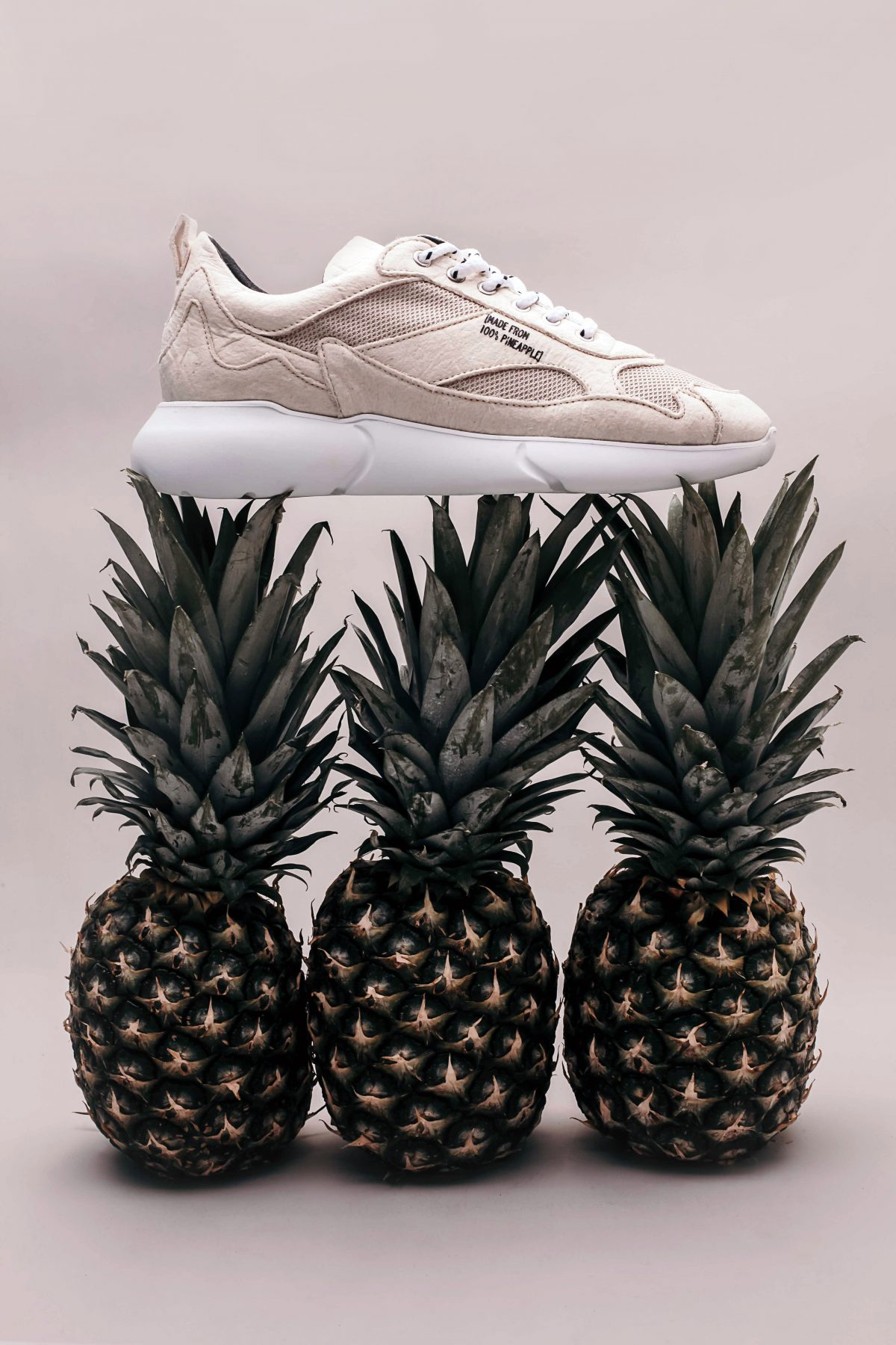 You can stunt on the 'Gram with these vegan trainers made from pineapples