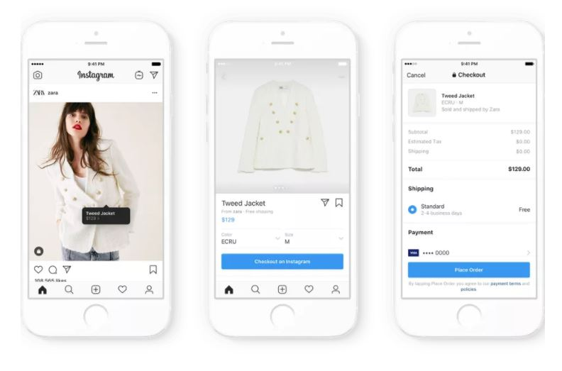 Instagram now lets you buy stuff directly through the app