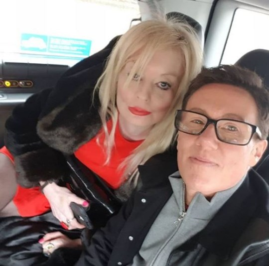 Lauren Harries and Bruce