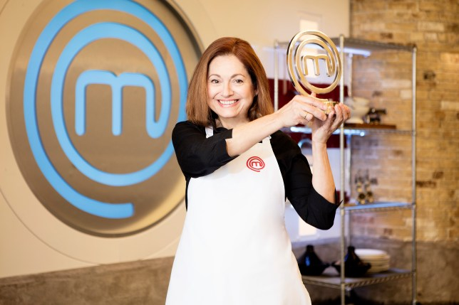 Irini Tzortzoglou has been crowned Masterchef winner (Picture: BBC One)