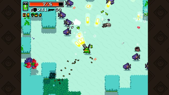 Nuclear Throne (NS) - not a looker but a fighter