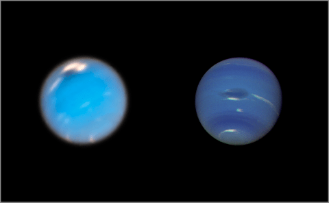 Hubble documents birth of new 'Great Dark Spot' on Neptune – and it's the size of Earth