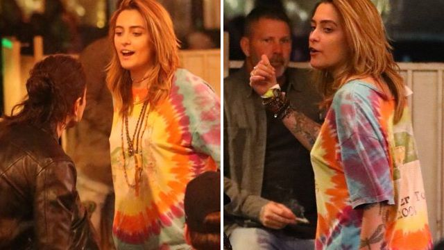 Paris Jackson smiles amid Leaving Neverland controversy as she heads out with boyfriend Gabriel Glenn