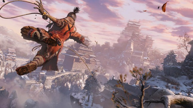 Sekiro: Shadows Die Twice (PS4) - ninja souls