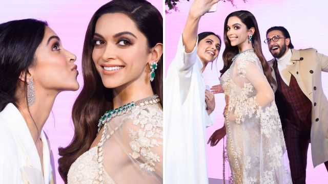 Deepika Padukone insists Ranveer Singh isn't jealous over Madame Tussaud's statue: 'He's inspired by it'