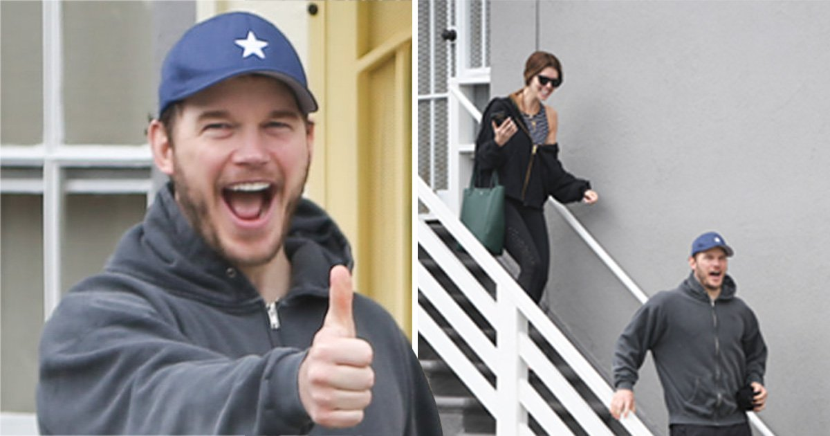 Chris Pratt and Katherine Schwarzenegger all smiles after workout session ahead of their wedding