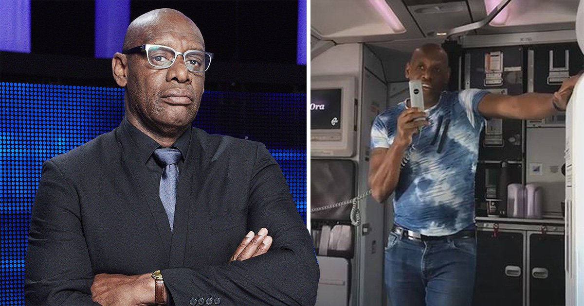The Chase's Shaun Wallace reveals three-year wait list for contestants as he turns quiz master on flight
