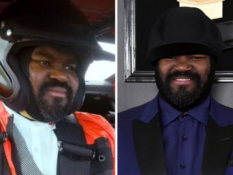 Gregory Porter has custom helmet made to continue wearing famous hat during Top Gear appearance