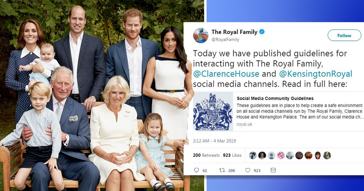 Royals clamp down on internet trolls after Meghan and Kate suffer abuse