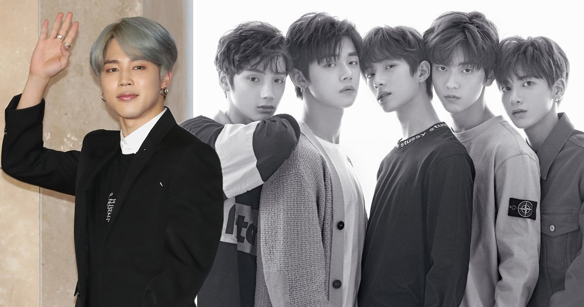 BTS' Jimin warms our hearts as he congratulates label mates TXT on Crown debut