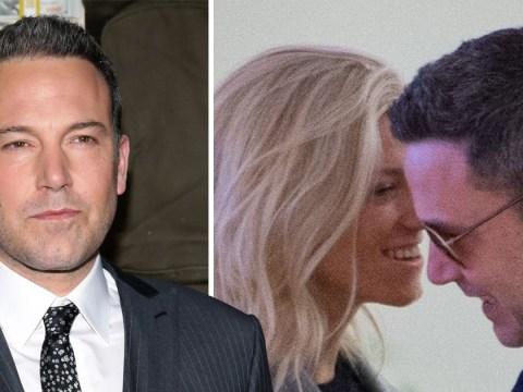 Ben Affleck cosies up to Lindsay Shookus at JFK airport after admitting he 'still loves' Jennifer Garner
