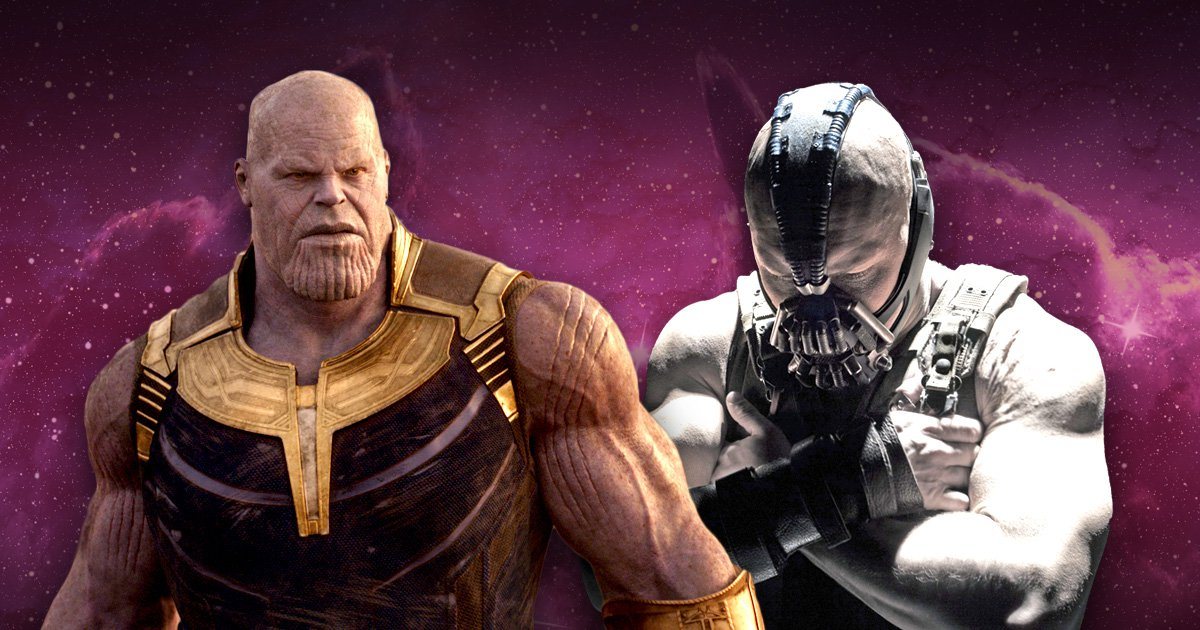 Battle begins between Marvel and DC as fans debate whether Thanos is better than Bane
