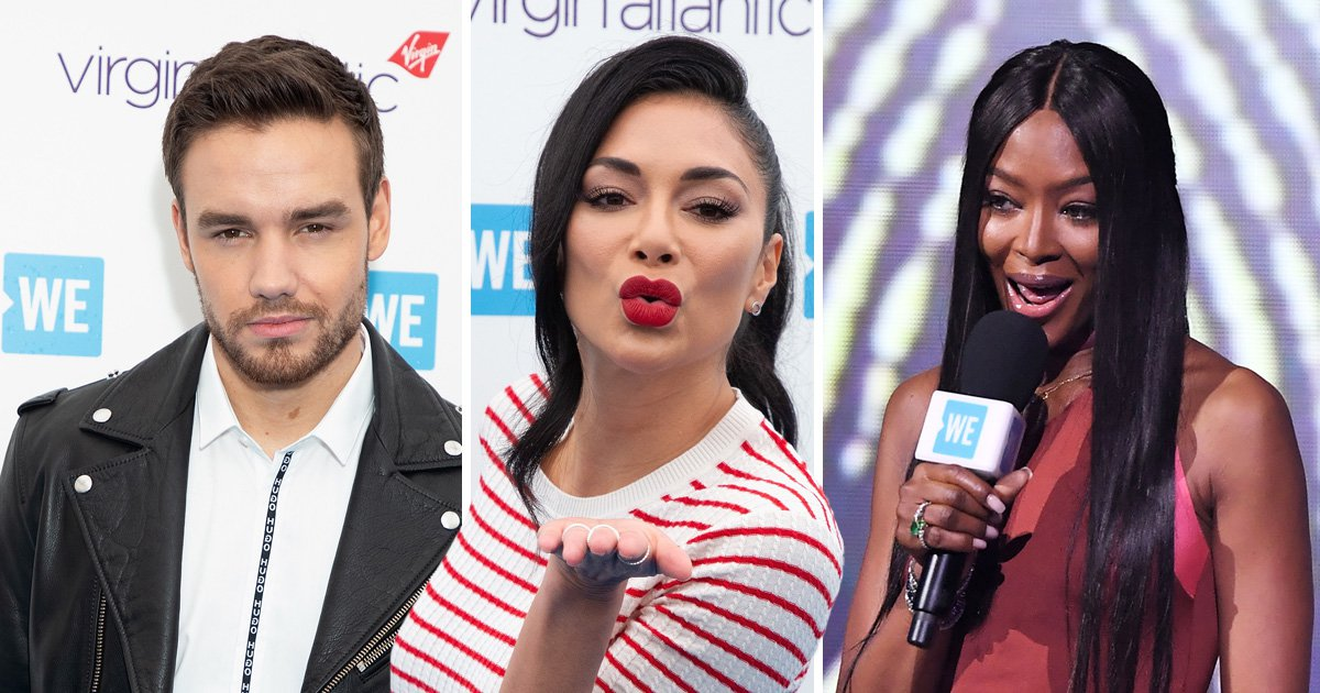 Naomi Campbell shares passionate speech as she's joined by 'boyfriend' Liam Payne at WE Day