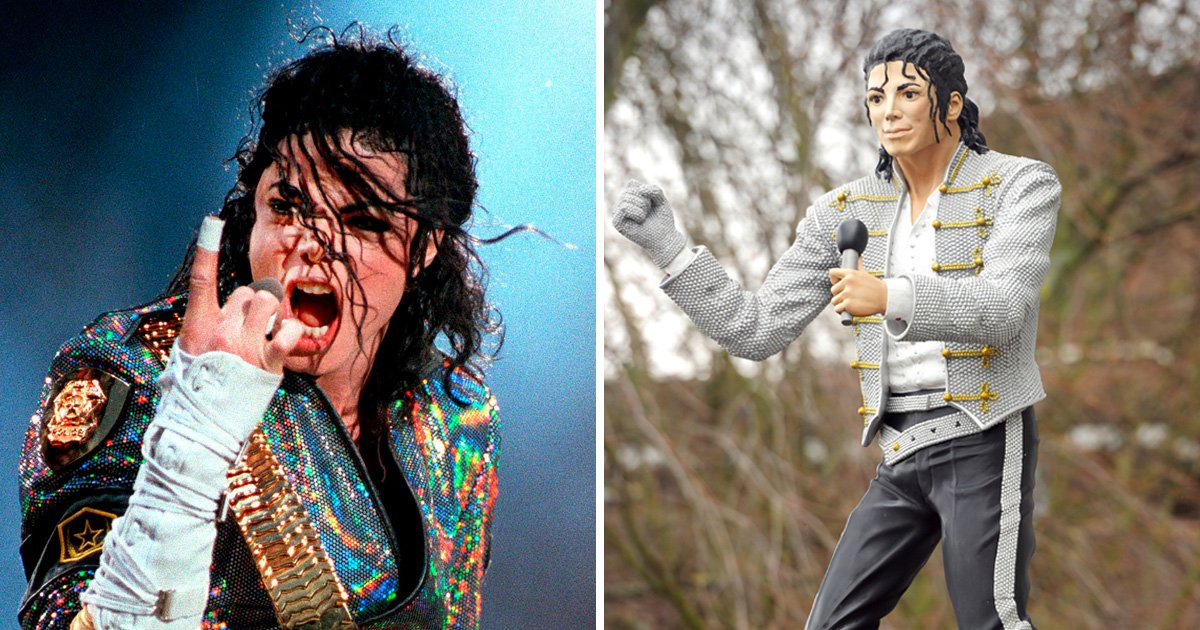 Michael Jackson statue removed from National Football Museum ahead of Leaving Neverland airing