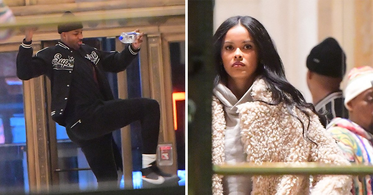 Tristan Thompson leaves hotel with model Karizma Ramirez weeks after cheating on Khloe Kardashian