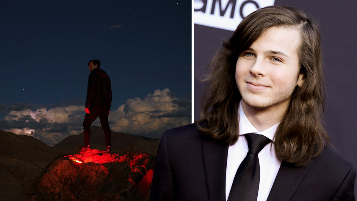 The Walking Dead's Chandler Riggs signs to Steve Aoki label and drops new single Endeavour