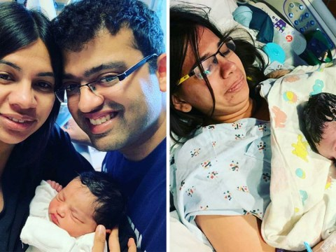 Woman who hasn't had sex due to painful vaginismus gives birth naturally