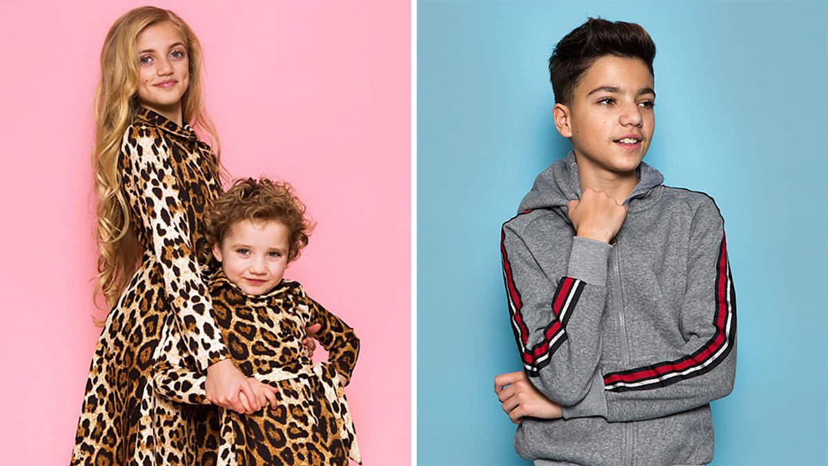 Katie Price gets her way as Princess and Junior star in fashion shoot for new online boutiques