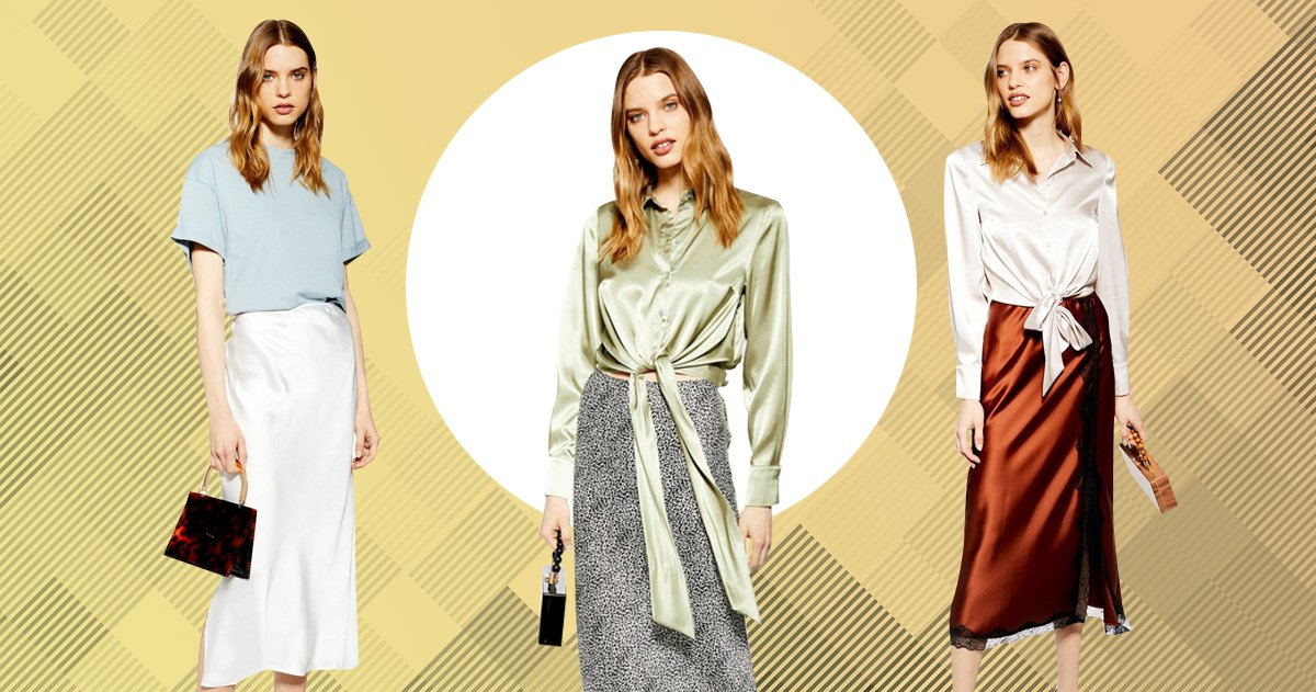 Topshop launches new animal print satin skirts for £35