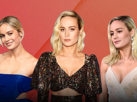 Brie Larson says Captain Marvel red carpet looks are a message of empowerment and 'owning her body'