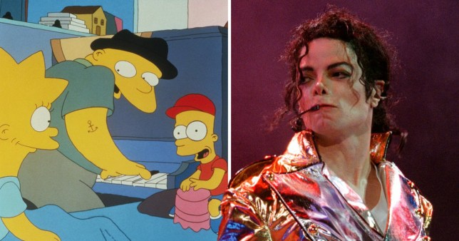 Simpsons Michael Jackson episode