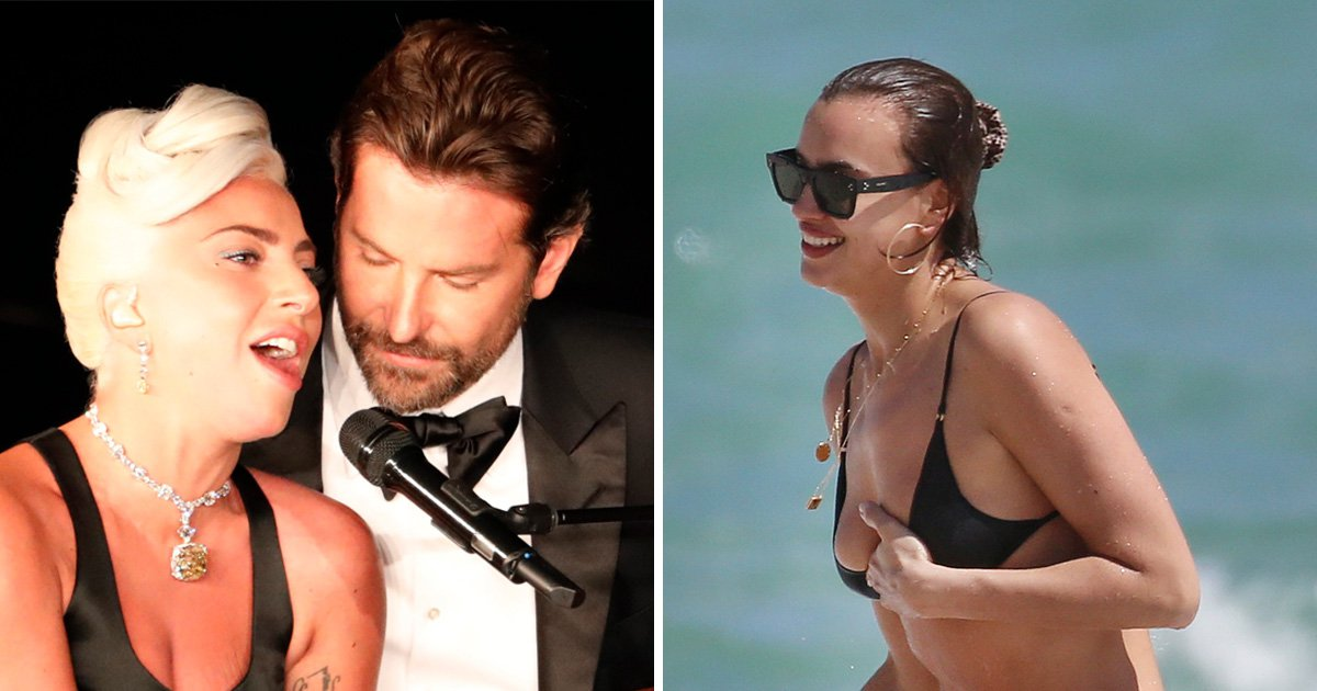 Irina Shayk doesn't look bothered by Bradley Cooper/Lady Gaga rumours as she soaks up the sun