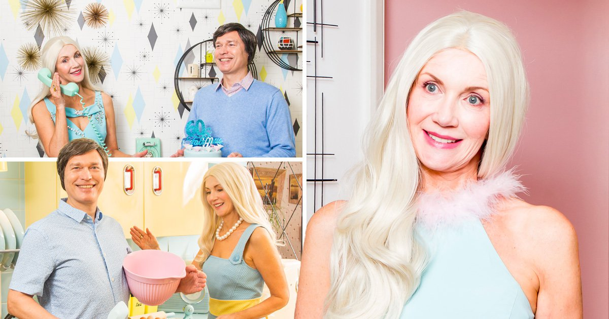 What would Barbie look like if she really celebrated her 60th birthday?