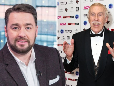 Jason Manford assures us that Bruce Forsyth is in heaven as he clears up awkward joke