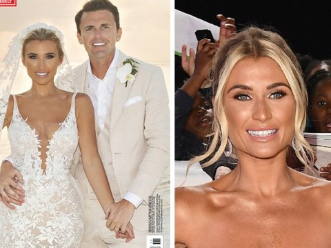 Billie Faiers beams in first look at wedding to Greg Shepherd as she celebrates 'best day of her life'