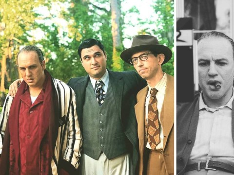 Tom Hardy is every inch American gangster Al Capone in new behind-the-scenes images of Fonzo