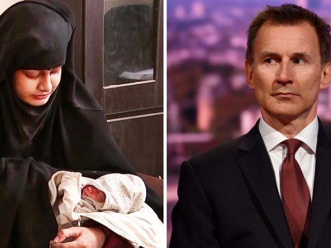 Rescuing Shamima Begum's baby from Syria was 'too dangerous' says Jeremy Hunt