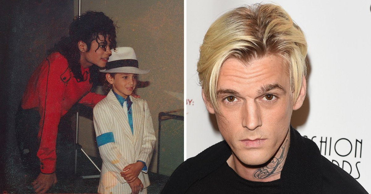 Aaron Carter is furious that his name has been dragged into Leaving Neverland allegations