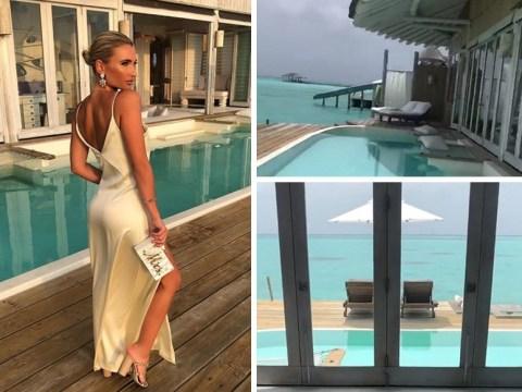 Inside Billie Faiers and Greg Shepherd's extravagant honeymoon suite following fairytale Maldives wedding