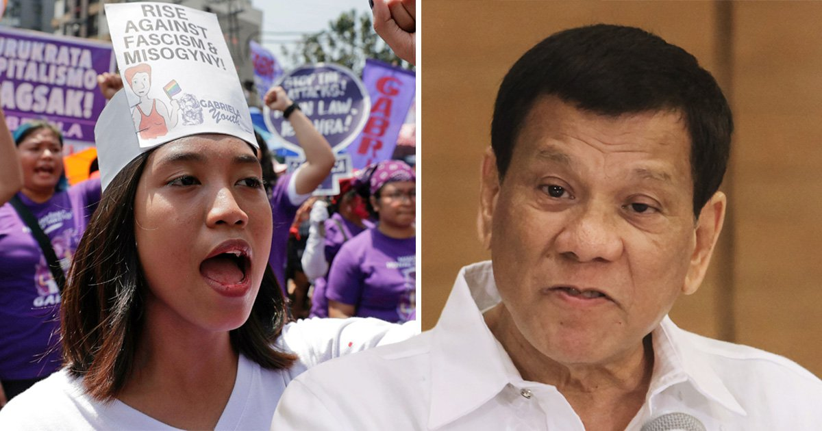 Philippines President brands women 'bitches' at female conference