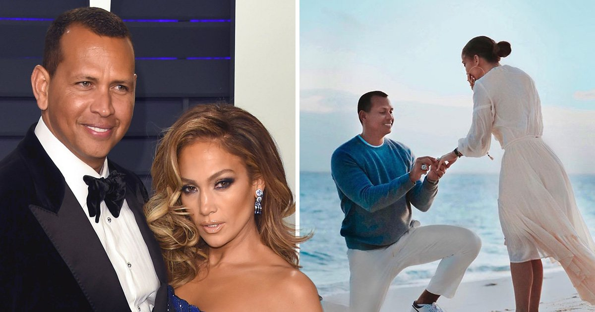 Jennifer Lopez shares BTS glimpse at Alex Rodriguez's romantic proposal amid Jose Canseco cheat claims