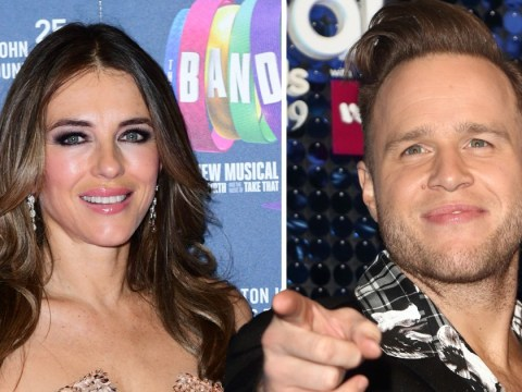 Olly Murs has been sliding into Elizabeth Hurley's DMs