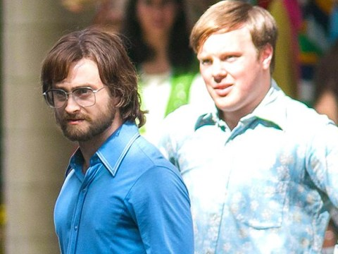 Daniel Radcliffe drenched in sweat as he plays prisoner on the run in Escape from Pretoria