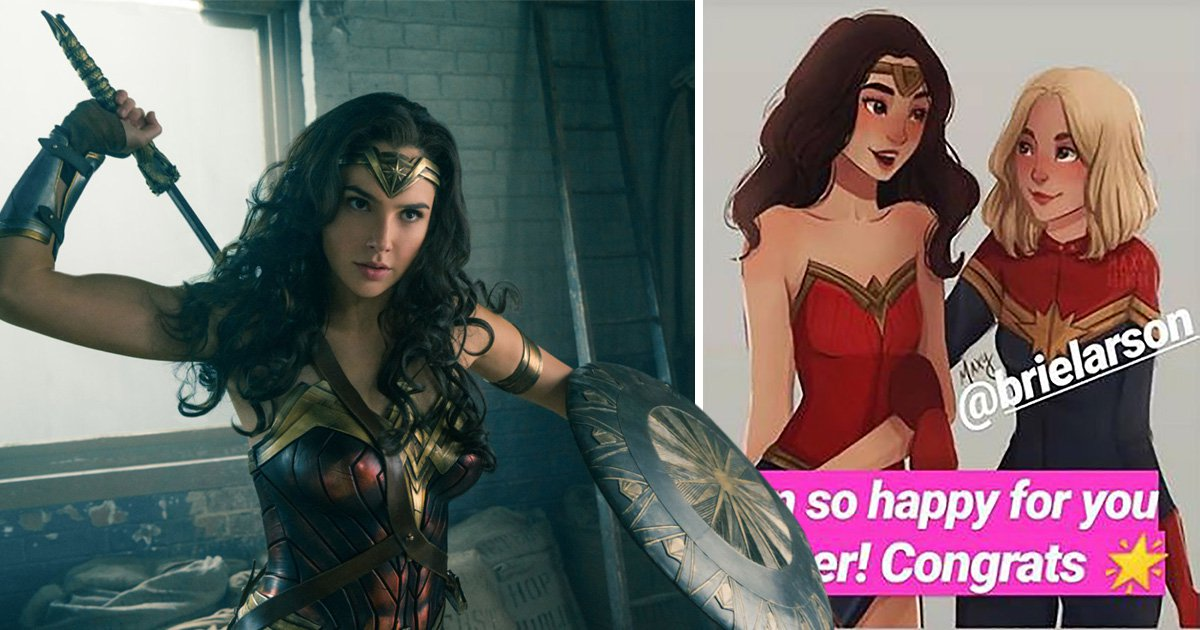 Brie Larson and Captain Marvel praised by Wonder Woman star Gal Gadot