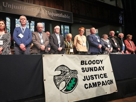 Just one of 17 soldiers to be charged over Bloody Sunday killings