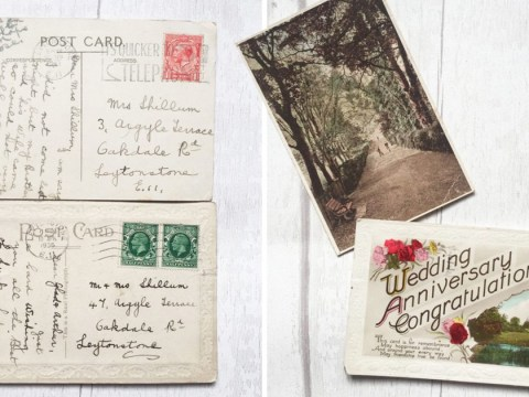 Woman finds postcards sent to her grandparents in the 1930s on eBay