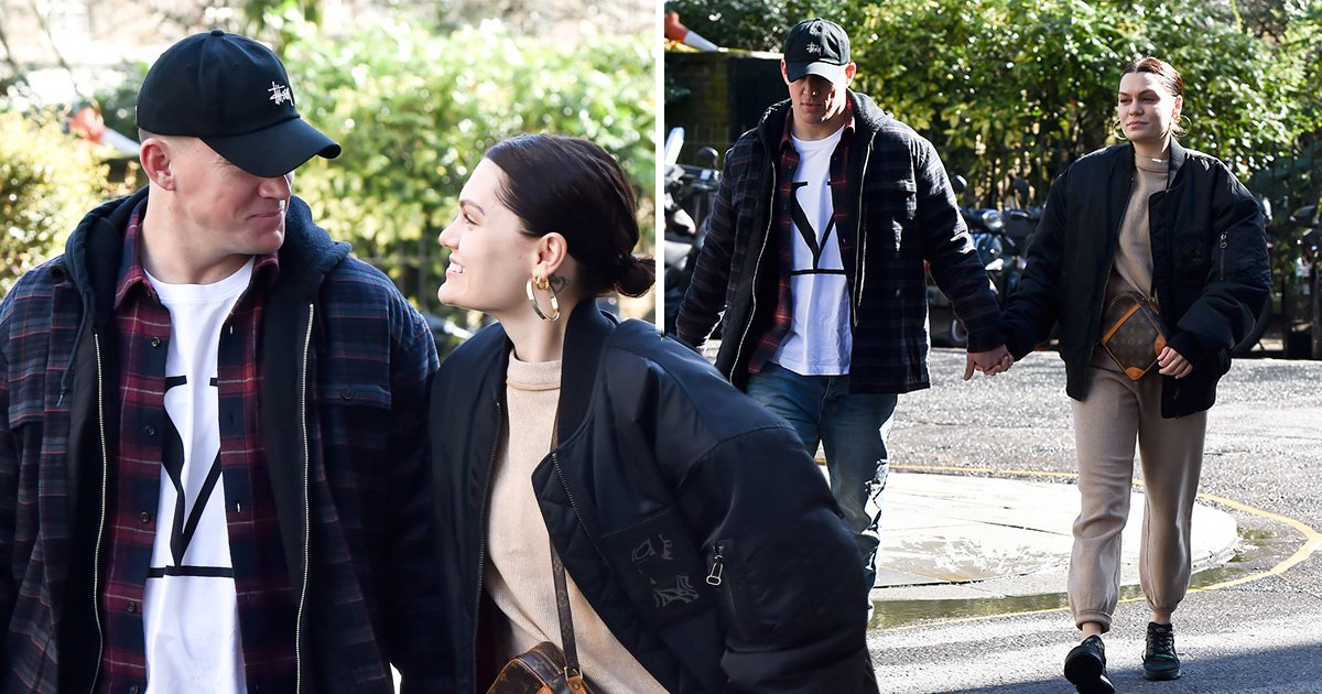Jessie J and Channing Tatum aren't afraid to show off relationship as they're spotted hand in hand