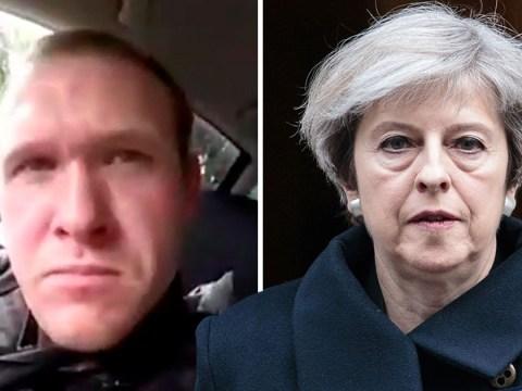 Theresa May condemns 'horrifying' New Zealand terror attack