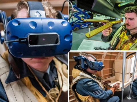 Virtual reality experience lets public experience Dambusters raid as if they were there