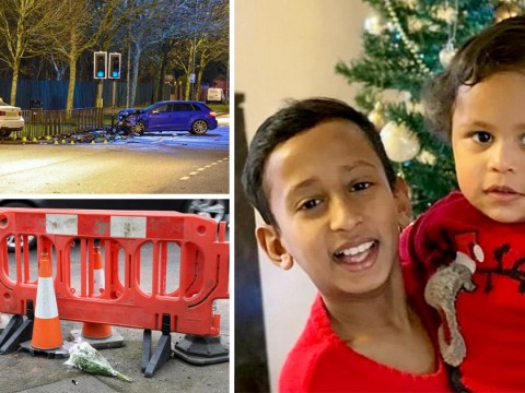 Children killed after their car was hit during Audi and Bentley 'street race' are named