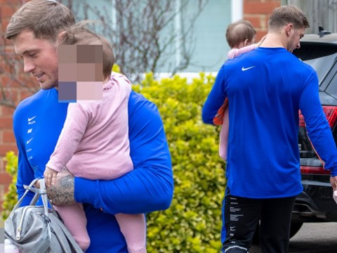 Dan Osborne returns to family home amid Jacqueline Jossa cheat claims as he spends day with daughters
