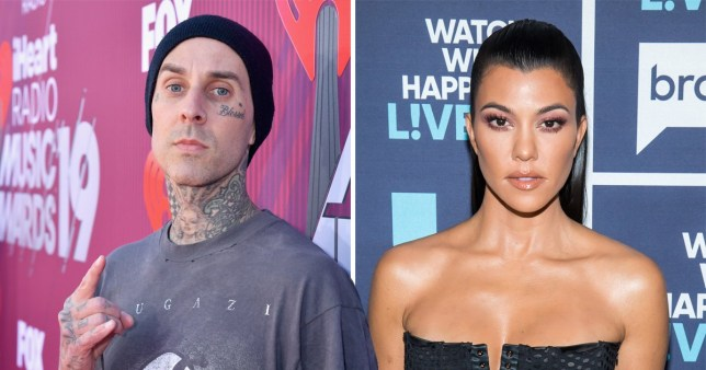 SEC_57053573 Kourtney Kardashian and Travis Barker aren't dating so we can all calm down