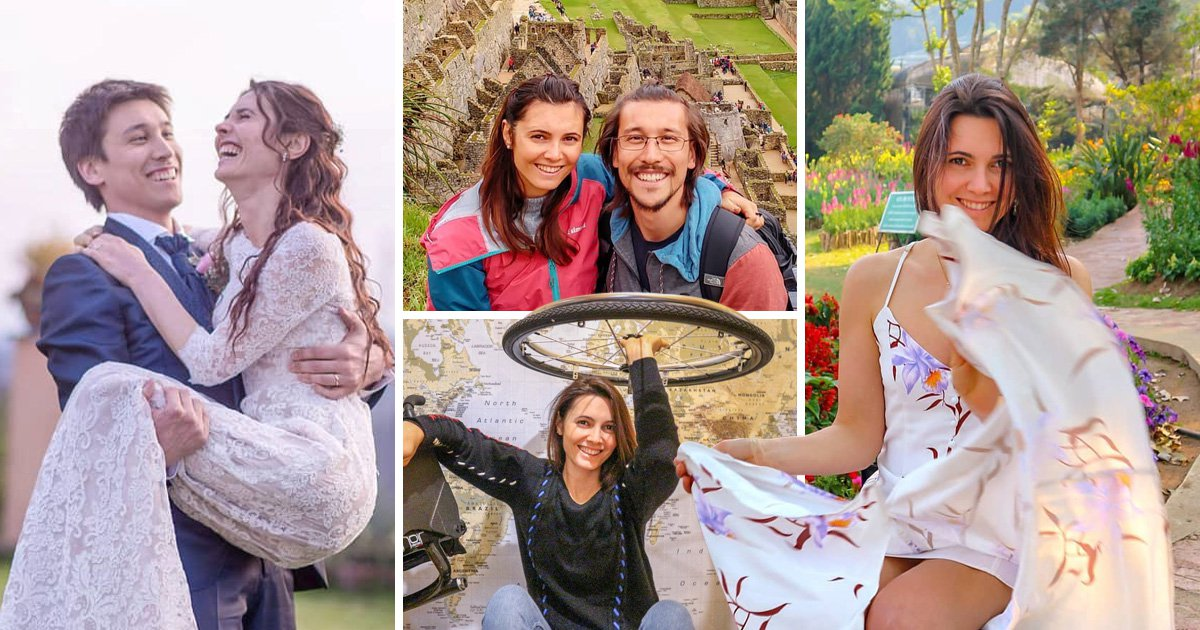 Woman who tore her spine in a horrific motorbike crash falls in love and marries her physiotherapist