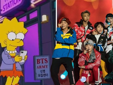 BTS make sneaky cameo in The Simpsons as ARMY posters pop up in Korea