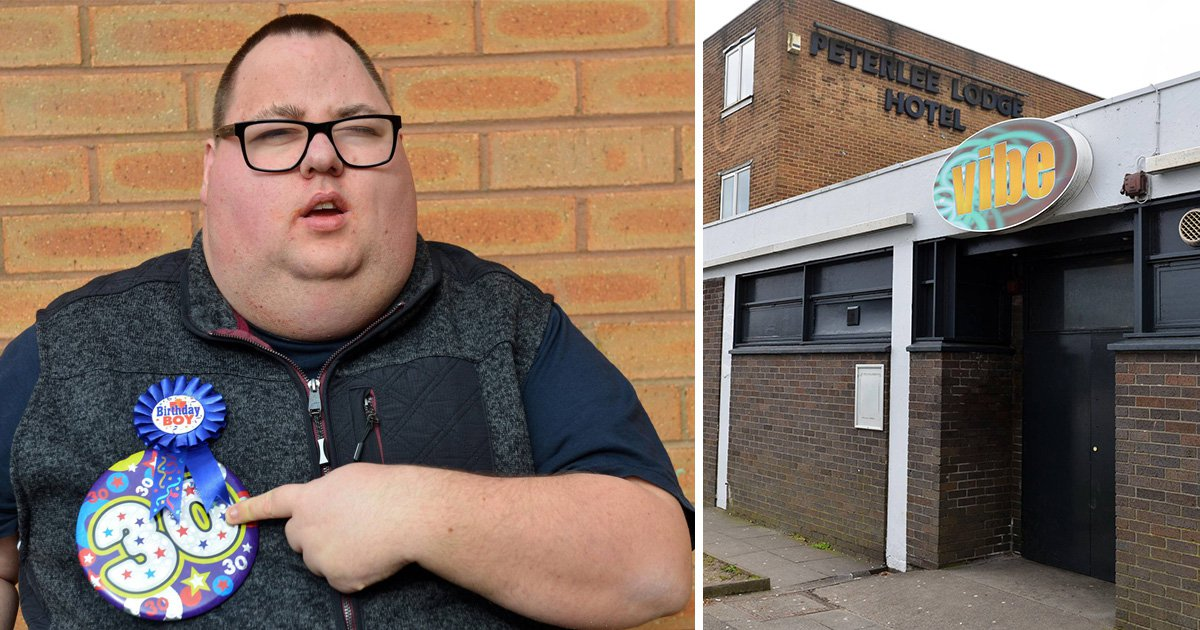 Disabled man turned away from nightclub on his birthday 'for wearing wrong clothes'