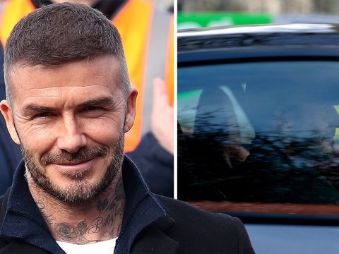 David Beckham admits using phone behind the wheel of his Bentley